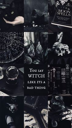 Halloween ist meine Ästhetik – Halloween is my aesthetic – # aesthetics Witchy Wallpaper, Wallpaper Collage, Goth Wallpaper, Halloween Wallpaper, Halloween Backgrounds, Wallpaper Desktop, Wallpaper Quotes, Screen Wallpaper, Wallpaper Backgrounds
