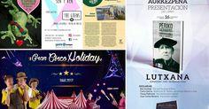 Agenda | Libro sobre Periko Solabarria en Lutxana + artesanía de Marysapo + circo