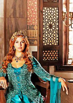 Meryem Uzerli in 'Muhteşem Yüzyıl/The Magnificent Century' (2011).