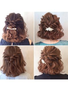 Get Sassy with Short Hair Styles Short Hair Updo, Short Wedding Hair, Messy Hairstyles, Pretty Hairstyles, Wedding Hairstyles, Curly Hair Styles, Short Prom Hairstyles, Short Curls, Hair Arrange