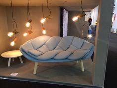 Sofa, 2Sitzer geflochtene Auflage, Sofa, 2 seater braided seat cushion
