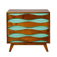 Wave chest of drawers from Oliver Bonas | Chests of drawers | PHOTO GALLERY | Homes & Gardens | Housetohome.co.uk