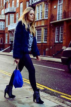 Last Day In London ( Fur Real Faux Coats & Leggings )