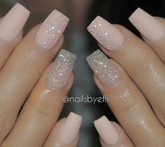 Natural and Glitter