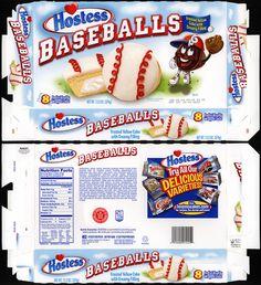 Hostess - Baseballs - snack cake box - 2010 | Flickr - Photo Sharing!