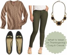Fashion Smashion: What to Wear on Thanksgiving- Casual