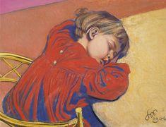 Stanisław Wyspiański, Śpiący Staś  |  1904 pastel, papier, 47 × 67 cm, Muzeum Narodowe w Poznaniu, © Fundacja Raczyńskich