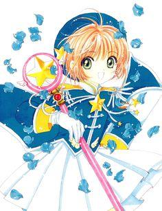 CLAMP, Cardcaptor Sakura, Cardcaptor Sakura Illustrations Collection 3, Kinomoto Sakura, Pleated Skirt, Sealing Wand (Star Form)