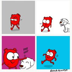 Pets are good for the heart