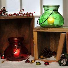 Holiday Glass Balloon Lanterns | Kirklands