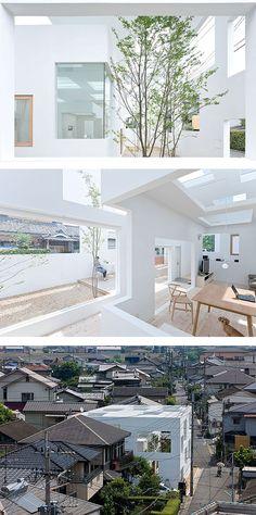 Sou Fujimoto.. House N, Oyta, Japon