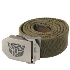Transformers Belt, starting at $7.