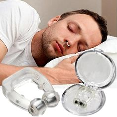Portable Soft Magnetic Anti Snore Stop Snoring Nose Clip Sleep Tray Relieve Sleeping Aid Apnea Guard Night Device with Case - Ofomy Anti Ronco, Nasal Congestion, Stop Overeating, Snoring Solutions, Nasal Passages, Breathe Easy, Healthy Sleep, Sleepless Nights, Health Products