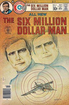 The Six Million Dollar Man comic book