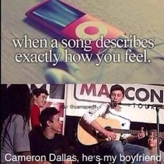 Cameron Dallas by Shawn Mendes