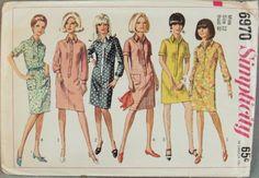 I've always felt drawn to 60's fashion.