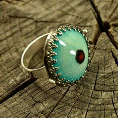 Metalwork RING  sterling silver artistic jewellery by Ankanate