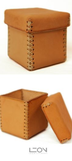 Basic leather box.