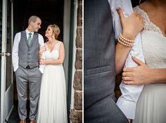 Bride and groom pictures at Elizabeth Claires by Amanda May Photos