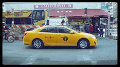 NYC, Still Photos, Animation, Stop Frame, Changing Backgrounds, Taxi