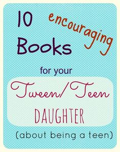 Help your tween/ teen navigate through those ackward years of insecurity and change.