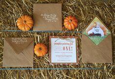 1st birthday Autumn Harvest Party - Pumpkin Patch Theme