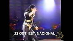 Michael Jackson - Dangerous Tour in Chile - TV Spot 1993