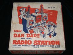 Dan Dare Space Control Radio Station Boxed 1950s Merit in Toys & Games, Vintage & Classic Toys, Other Vintage & Classic Toys | eBay