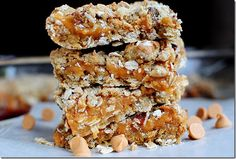 Lighter butterscotch bars.  I hate butterscotch, but I bet white chocolate would be delish!