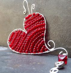 Heart decor for valentines day