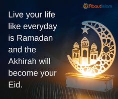Your Akhirah will become your Eid!