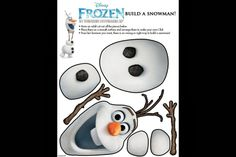 Disney's Frozen Printables!  #Disney #FROZEN #Printables