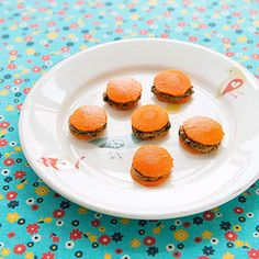 Healthy Eating Tips and Recipes for Kids: Bunny Burgers (via FamilyFun Magazine)