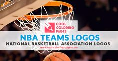 NBA Teams Logos coloring pages | Cool Coloring Pages