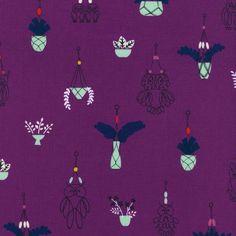 Macrame - Hang It Up (Grape) ⎮ Cotton