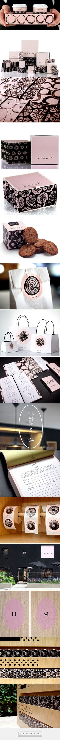 Grazia. Delicacies of Salt and Sweet. — The Dieline - Branding & Packaging - created via http://pinthemall.net (Mix Colors Design)