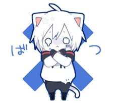 Mafumafu Sticker (cat)
