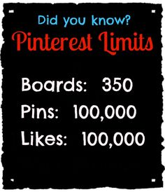 Why are there limits? I'll probably hit this mark one day and then I'm gonna have to delete pins in order to go on. it will be a sad sad day<<< i don't think this is true The More You Know, Good To Know, Did You Know, Wtf Fun Facts, Awesome Facts, Random Facts, Interesting Facts, Challenge Accepted, Sad Day