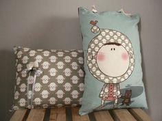 Decorando con cojines (y mucho color) [] Decorating with cushions (and color!)