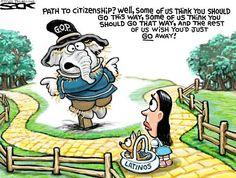 Sack cartoon: Immigration | StarTribune.com
