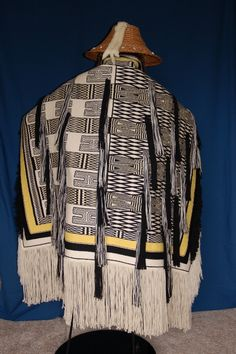 """woven by John Beard  An example of cultural appropriation. Copied from museum holdings and woven without Traditional Protocols  Perpetrating more """"entitlement """" for non- natives by non-natives  Out of context... Out of tradition... Out of respect"""