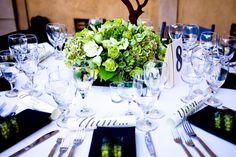 Beautiful Centerpiece ~ Coordination by Mint Julep Social Events.