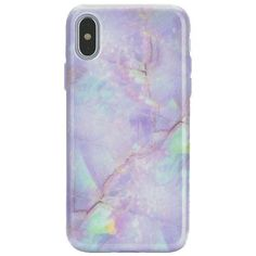 Cotton Candy Marble iPhone Case ($25) ❤ liked on Polyvore featuring accessories and tech accessories