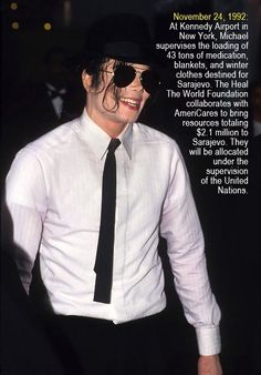 Michael's Charity Work  | Curiosities and Facts about Michael Jackson ღ by ⊰@carlamartinsmj⊱