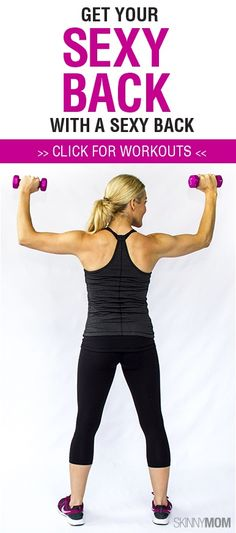 Get that slender back and lean shoulders with our favorite back exercises