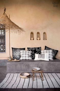vosgesparis: A beautiful Moroccan home decorated by Couleur Locale