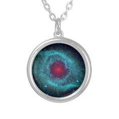 The Helix Nebula is often referred to as The Eye of God and reminds one of the beauty of space. Custom Necklace