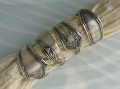 Repurposed Silverware Napkin Rings