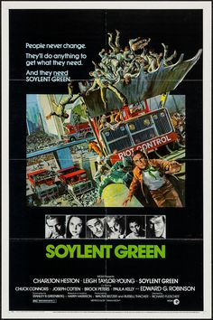 May 9 - Opened on this date in 1973: Soylent Green.