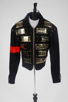 Michael Jackson Outfits, Michael Jackson Quotes, Quincy Jones, Motorcycle Jacket, Ideias Fashion, King, Costumes, Human Nature, Clothes